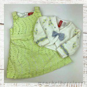 Gymboree Petit Four Line Dress and Sweater Set